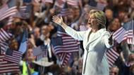 Hillary Clinton ist Präsidentschaftskandidatin