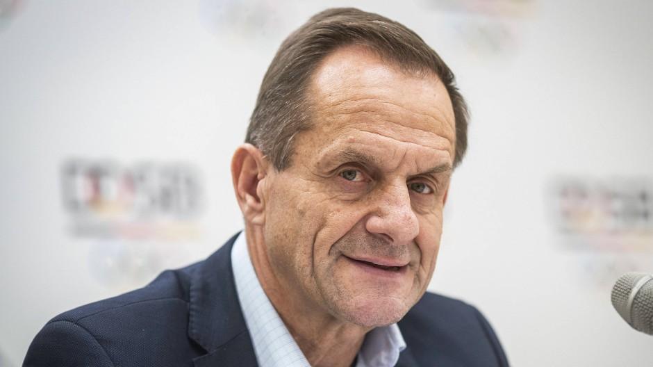 Vernichtendes Zeugnis: DOSB-Präsident Hörmann