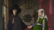"""Jan van Eycks """"Arnoflini-Hochzeit"""" aus dem Jahr 1434 hängt heute in der Londoner National Gallery"""