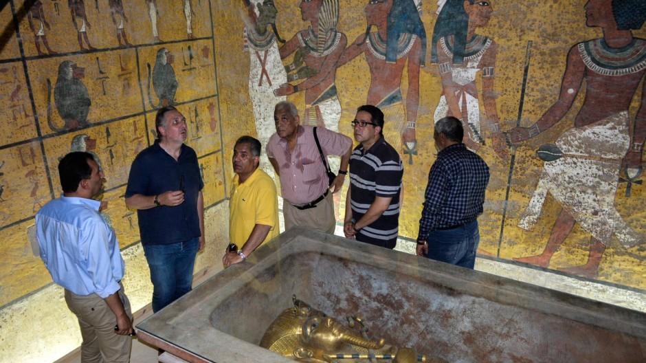 Die Grabkammer von Tutanchamun