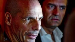 """Varoufakis lobt Krise als """"griechischen Frühling"""""""