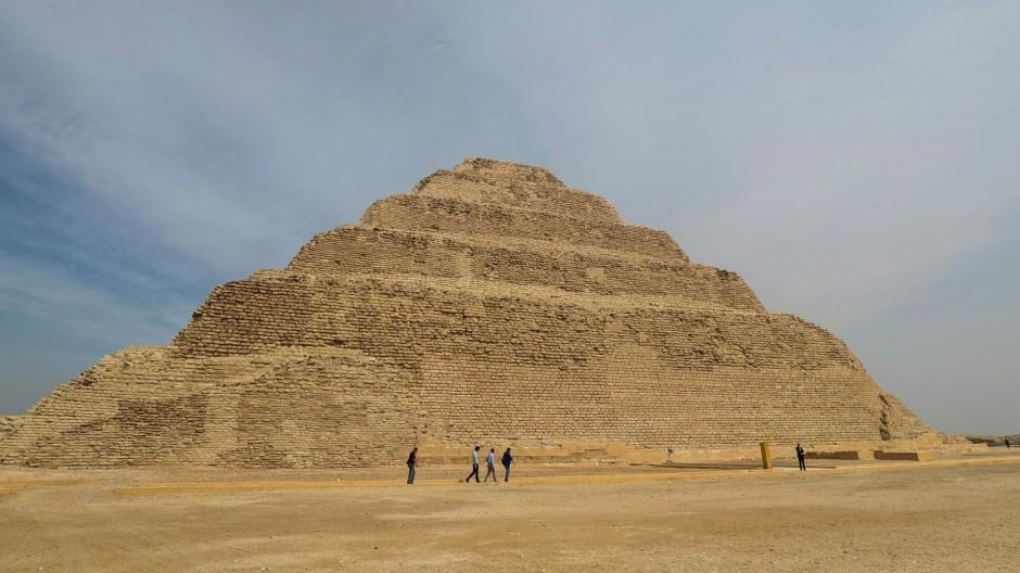 Älteste Pyramide in Ägypten wieder zugänglich