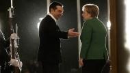 10. Januar 2019: Merkel bei Tsipras. Die Bundeskanzlerin befindet sich auf einem zweitägigen Besuch in Athen.