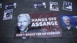 Warum Assange Trump gefährlich werden könnte