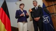 Bundesverteidigungsministerin Annegret Kramp-Karrenbauer am Mittwoch in Brüssel