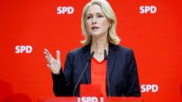 Ministerpräsidentin Schwesig legt SPD-Vorsitz nieder