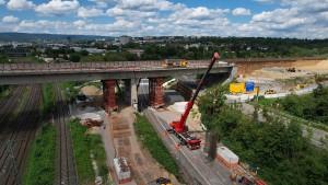 Salzbachtalbrücke wird am 6. November gesprengt