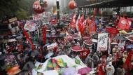 Straßenproteste gegen brasilianischen Präsidenten