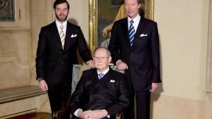 Luxemburgs Großherzog Jean im Alter von 98 Jahren gestorben