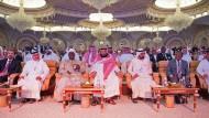 Mohammed bin Salman empfängt willige Geschäftemacher zu einer Investment-Konferenz in Riad.