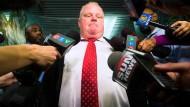 Bürgermeister Rob Ford lässt sich wegen Drogenproblemen behandeln