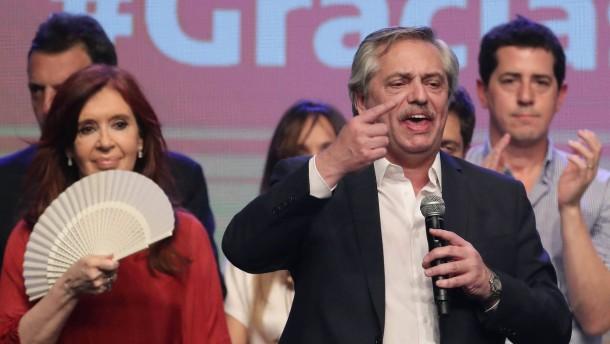Die Versprechungen von Argentiniens nächstem Präsidenten