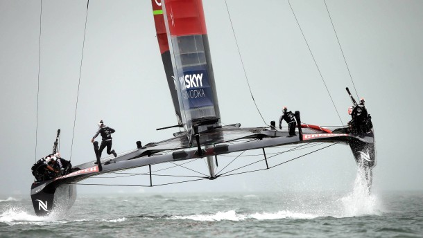 Traumfinale im America's Cup