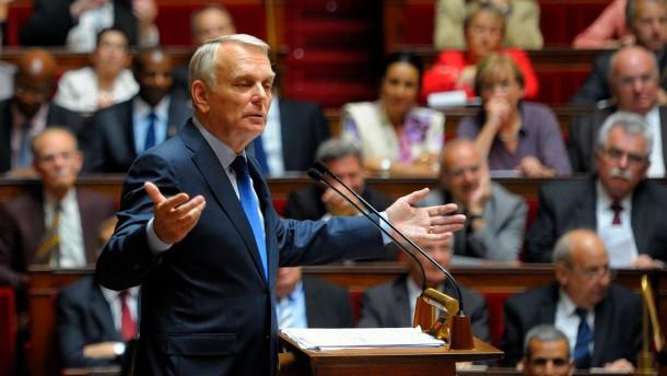 Ayrault: Ausgeglichener Haushalt bis 2017