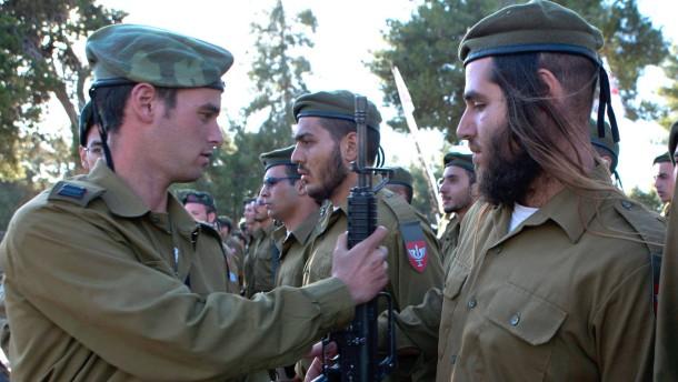 Mehr Ultraorthodoxe werden Soldaten