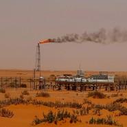Öl-Förderung in Saudi-Arabien