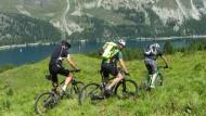 Beste Aussichten: Auf 2000 Höhenmetern querfeldein am Silersee in Oberengadin