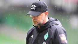 Thomas Schaaf nimmt Abschied von Werder Bremen