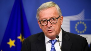 Juncker greift in die Haushaltstrickkiste