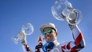 Mann des Jahres: Marcel Hirscher gewinnt zum fünften Mal die große Kristallkugel - und die kleine für den Riesenslalom-Weltcup noch dazu