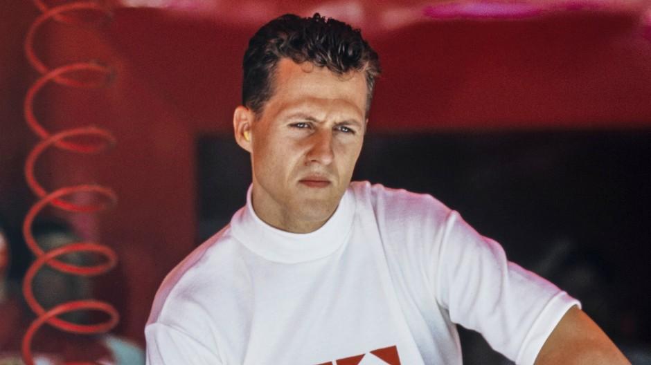 Der Rennfahrer Michael Schumacher.