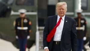 Trump bestätigt Ermittlungen gegen ihn