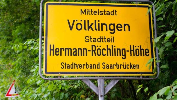 Streit um Hermann-Röchling-Höhe