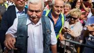 Walesa ruft zum Kampf gegen polnische Justizreform auf