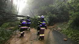 Zwei Männer sterben bei schweren Unwettern
