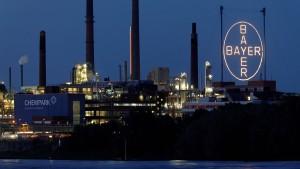 Anleger feiern Beteiligungsverkauf von Bayer und Lanxess