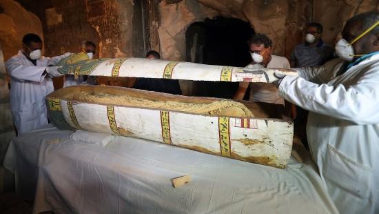 Archäologen präsentieren Sensationsfund in Luxor