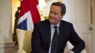 Der britische Premierminister David Cameron will seine Bürger abstimmen lassen