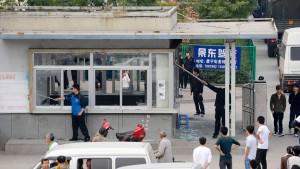 Foxconn-Werk läuft nach Massenschlägerei wieder