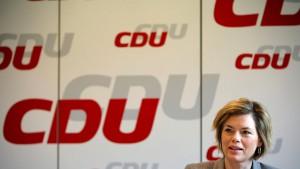 Klöckner: Ich unterstütze Merkels Politik ausdrücklich