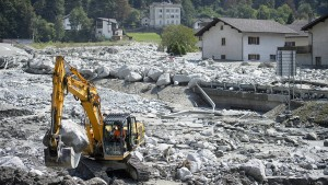 Berichte über neuen Felssturz in Graubünden
