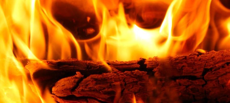 Kaminofen Feuer Im Wohnzimmer Technik Motor Faz