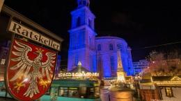 Blaue Paulskirche erinnert an Erklärung der Menschenrechte