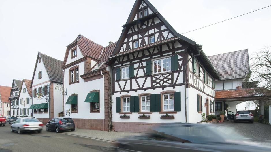 """Eine Pfälzer Institution: das Hotel """"Krone"""" in Herxheim-Hayna"""