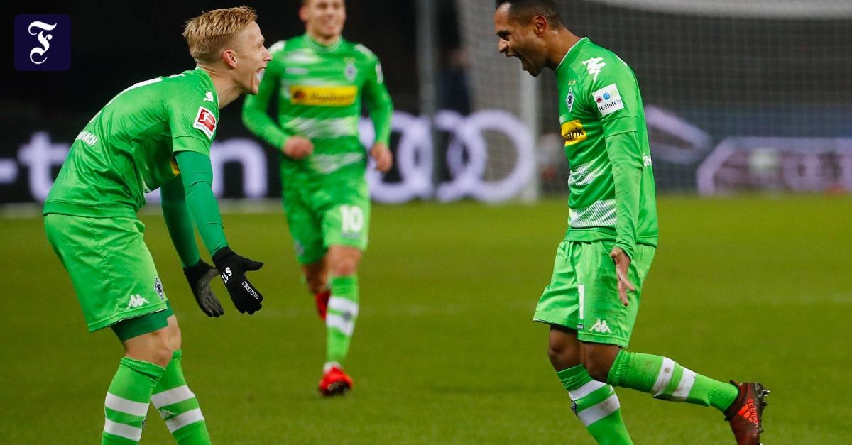 4:2 gegen Hertha BSC: Gladbach überrennt Berlin