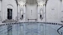 Dem Wasser verbunden: Stephen de Heinrichs Vorfahren hatten Mitte des 19. Jahrhunderts das Rácz-Bad in Budapest bauen lassen.
