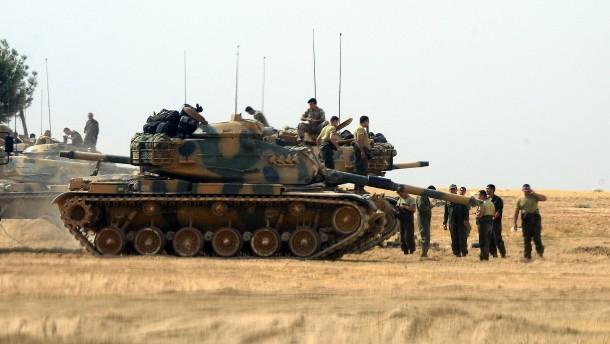 Waffenruhe zwischen Türken und Kurden in Syrien