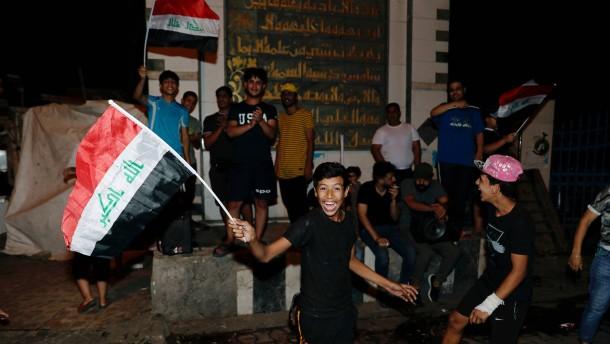 Bewegung des Geistlichen al-Sadr holt offenbar die meisten Stimmen