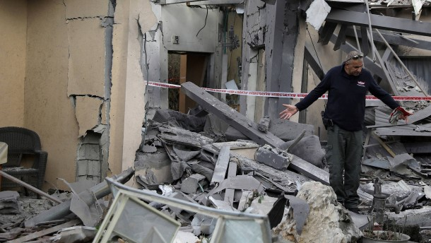 Israel vermutet Gazastreifen hinter Raketenangriff