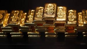 In Gold ist der Euro achtzig Prozent weniger wert