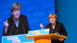 Merkels Welt