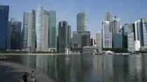 Hypermoderne Skyline, drastisches Strafrecht: Singapur