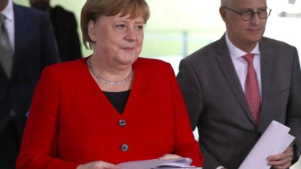 Merkel und die Mutter aller Fragen