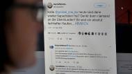 Der Tweet von Kartoffelotto und die Antwort der Dortmunder Polizei