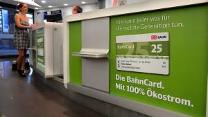 Die Bahncards sollen günstiger werden