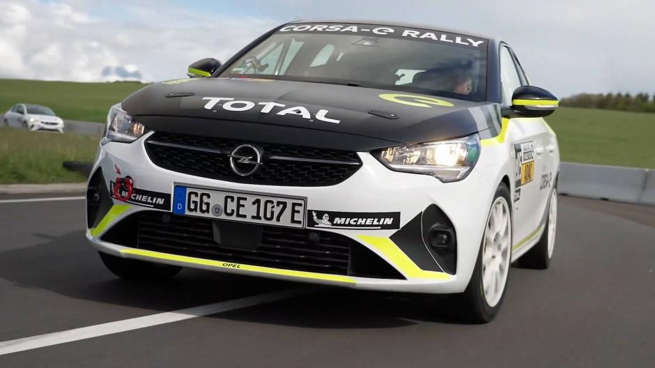 Opel Ralley Corsa-E